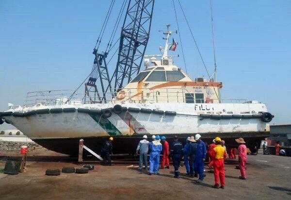 ساخت و تعمیر اسکله های مسافری با هدف تسهیل در پهلودهی شناورها