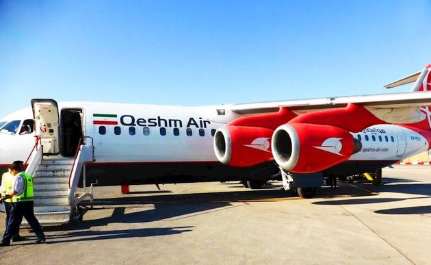 آتش سوزی موتور هواپیما در پرواز عسلویه-تهران تکذیب شد