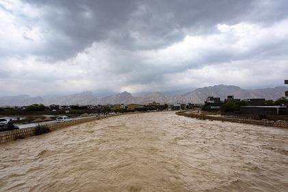خسارات سیل در بندر کنگان بوشهر