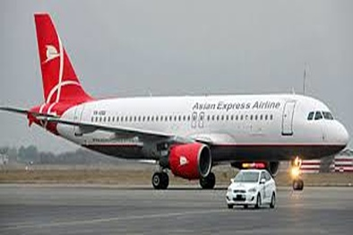 خروج از باند هواپیمای ایرباس قشمایر در فرودگاه نجف