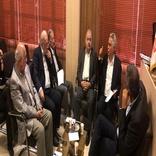نشست مشترک اعضای خانه معدن و دبیر انجمن ریلی