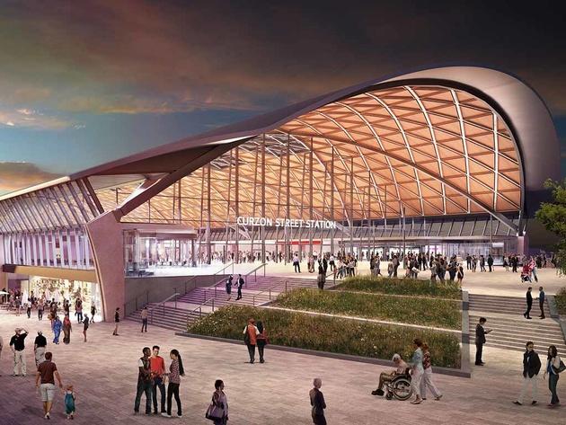 HS2 unveils Birmingham station concepts
