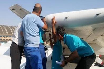 حادثه برای هواپیمای بدون مسافر ایران ایر در فرودگاه ساری