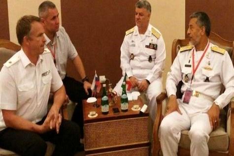 Iran, Russia discuss Caspian security