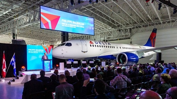 Delta takes delivery of first A220