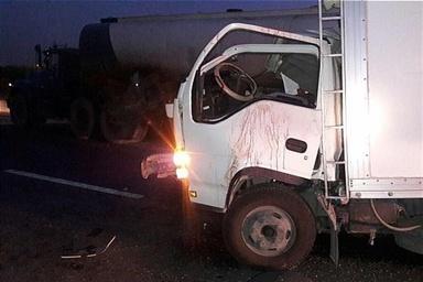 تصادف در آزادراه ساوه-همدان یک کشته به جای گذاشت