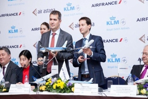 Air Astana signs Codeshare Agreement with Air France and KLM Royal Dutch Airlines