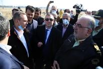 بازدید سفیر اکراین از محل حادثه سقوط هواپیمای اوکراینی حوالی فرودگاه امام