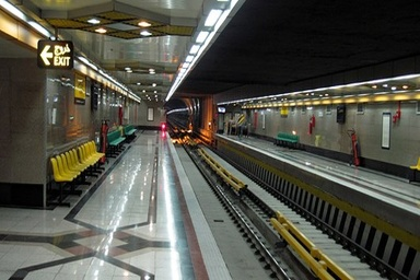 رفع اختلال سرویس دهی در خط ۴ متروی تهران