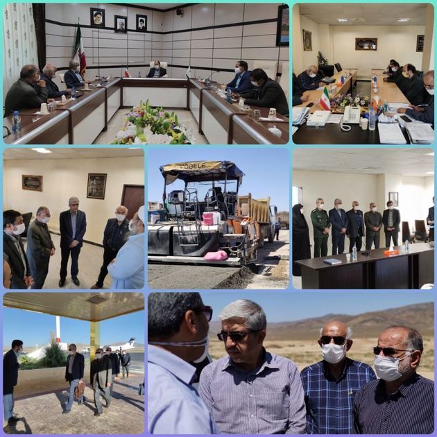 سفر یکروزه مدیرعامل انجمن خیرین راه و ترابری به خراسان شمالی