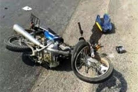 انحراف به چپ موتورسیکلت در جاده ساوه - تهران ۲ کشته داشت