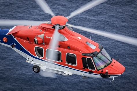 CHC Helicopter Takes Delivery of First H175 Helicopter