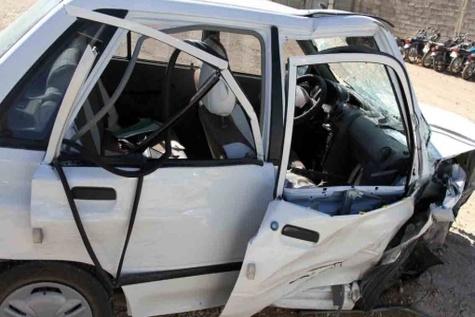 سانحه رانندگی در محور پیرانشهر –سردشت با ۶ کشته و زخمی