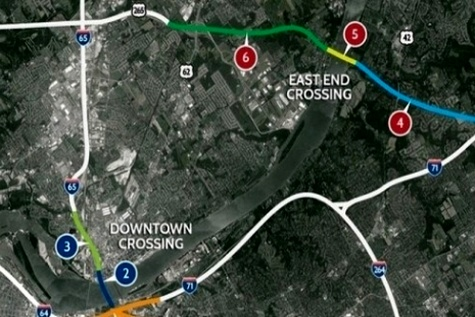 Toll collection commences on Ohio River Bridges
