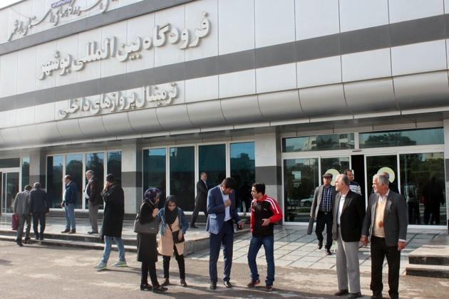 برقراری پروازهای شرکت هواپیمایی وارش در فرودگاه بوشهر