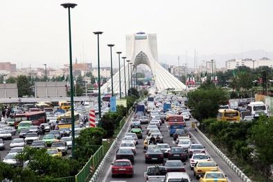 بازگشت ترافیک به معابر اصلی و بزرگراهی پایتخت