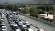 ترافیک نیمه سنگین در جاده چالوس/ تردد روان در هراز و فیروزکوه