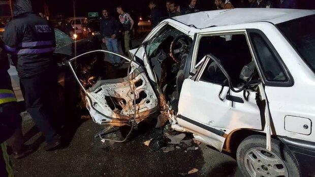 حوادث رانندگی در کرمانشاه سه کشته به جا گذاشت