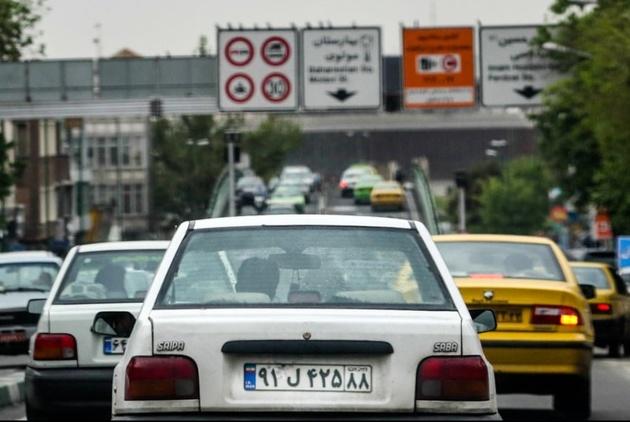 جواب آزمایش طرح ترافیک تهران