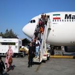 Air flight between Sulaymaniyah, Kish Island launched
