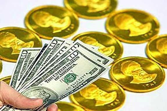 سکه گران شد، دلار ارزان