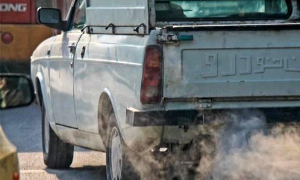 اخطار قضایی به خودروهای آلاینده