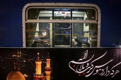 اولین گروه از زائران اربعین با قطار اعزام شد