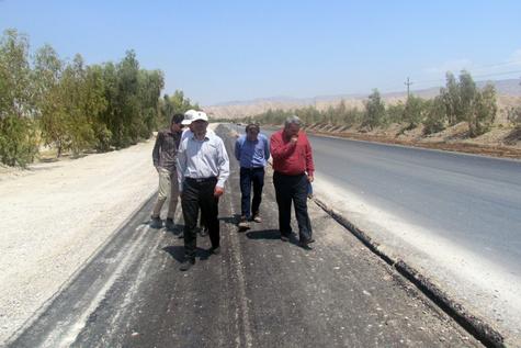 رفع گره های ترافیکی محور ایلام مهران تا اربعین