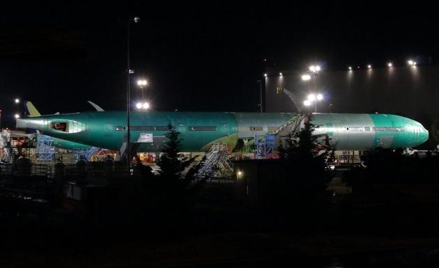 تست اولین فروند از بوئینگ 777x  انجام شد