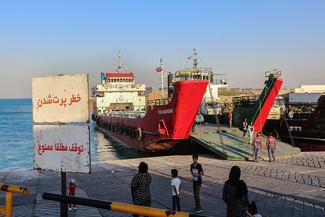سفر به آبهای خلیجفارس با خودرو شخصی