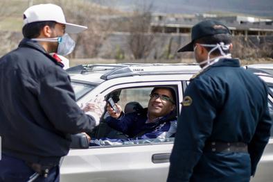 کنترل ورودی شهرها با حساسیت بالا توسط پلیس راهور