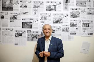 حضور مسعود تهرانچی در تحریریه تیننیوز