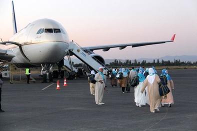 فرودگاه ارومیه میزبان بازگشت حاجیان استان آذربایجان غربی