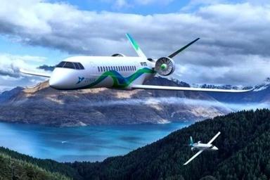 ساخت هواپیمای الکتریکی تا ۲۰۲۲ میلادی