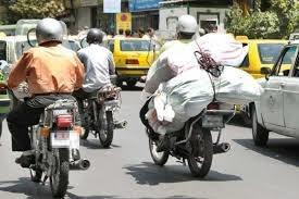 حرکت بین خطوط موتورسیکلت سواران الزامی است