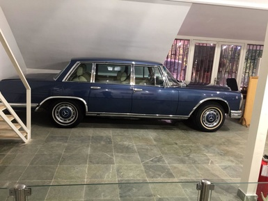 Mercedes Benz 600 Armored