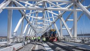 جنجالیترین پل ریلی اروپا توسط پوتین افتتاح شد