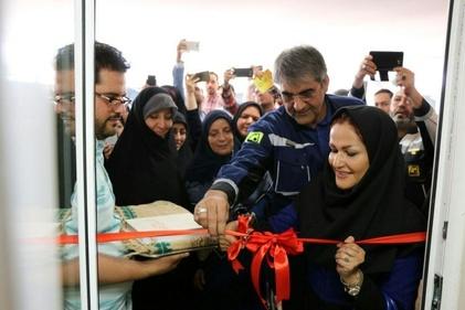 گزارش تصویری از افتتاح اتاق مادر و کودک در پلازای میدان ولیعصر(عج)