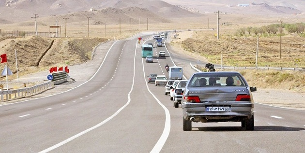 افزایش ۰.۲ درصدی تردد در جاده های برون شهری