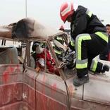 مانور امداد و نجات جادهای در بجنورد برگزار می شود