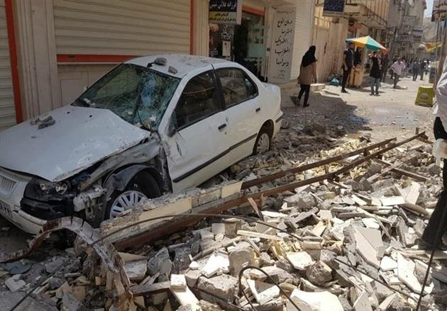 زلزله به ۸۳ خانه در مسجدسلیمان آسیب زد
