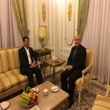 دیدار راستاد و سفیر ایراد در رم