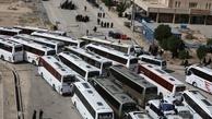 جابجایی یک میلیون زائر اربعین از طریق ۲۹۵۰۰ سفر اتوبوسی