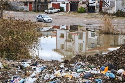 کلاچای در محاصره زباله - گیلان