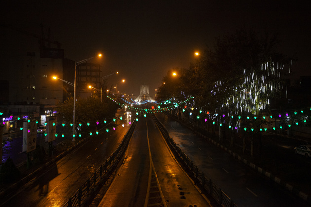 اعمال منع تردد شبانه تا ۱۵ فروردین در همه شهرها