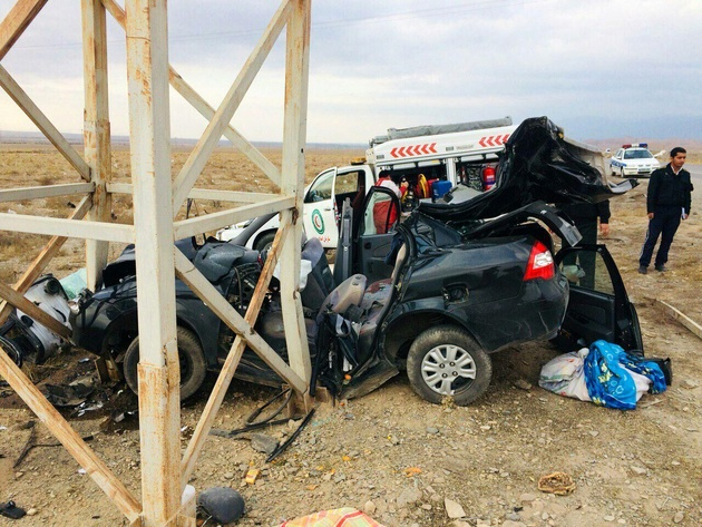 هشت تصادف در جادههای خراسان رضوی رخ داد