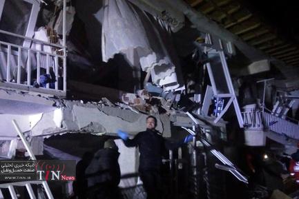زمین لرزه ۶.۸ ریشتری در ترکیه