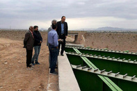 آخرین وضعیت فیزیکی پروژه بزرگراهی کرمان - زرند