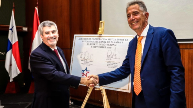 Panama Canal partners with Port of Rotterdam in support of global trade