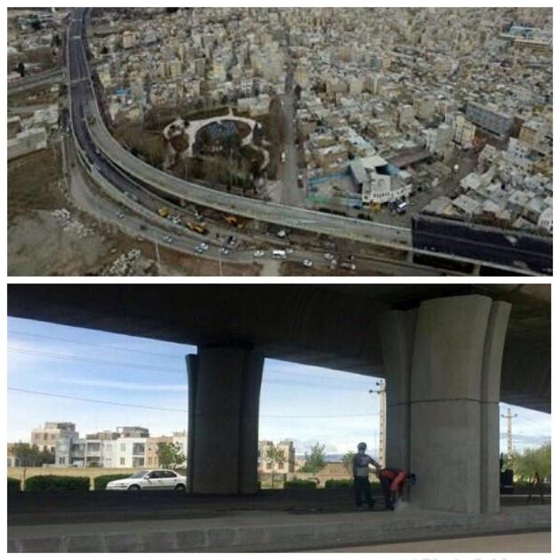 فضای زیرین پل امام رضا(ع) به مکان ورزشی تبدیل می شود
